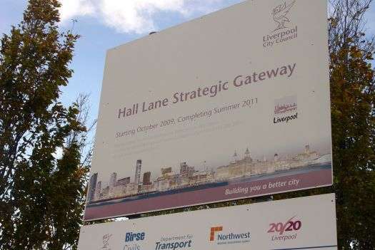 Welcome to the Hall Lane Strategic Gateway.
