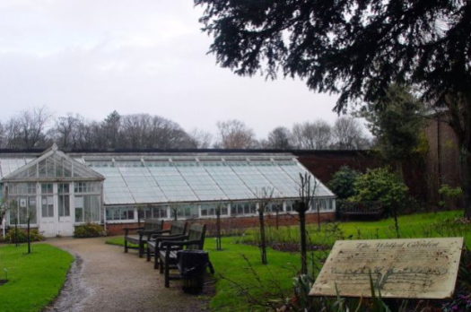 The Walled Garden at Croxteth Hall.