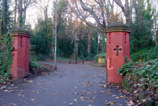 And cross through St Michael's Wood.