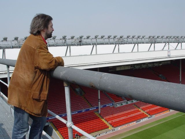 This is Anfield, 2005. Closest I ever got to the first team.