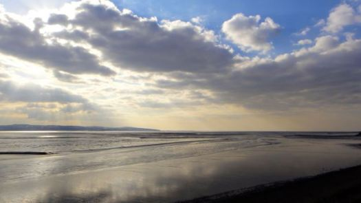 The Dee Estuary, the Shining Shore.