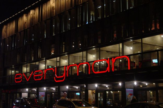 I arrive at The Everyman.