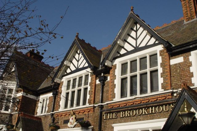 The Brookhouse, no doubt gearing up for this afternoon's match. Everton v West Ham.