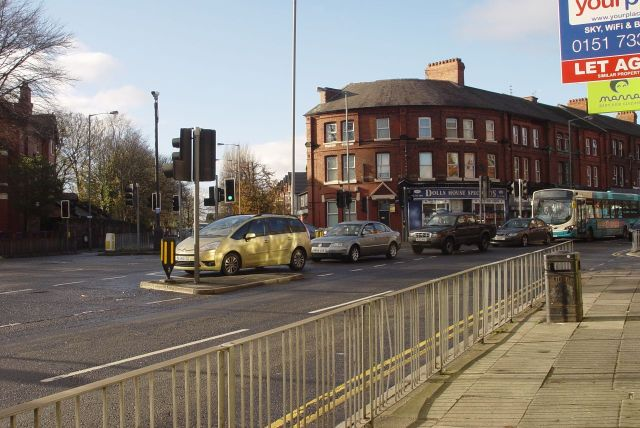 And the Ullet Road junction.