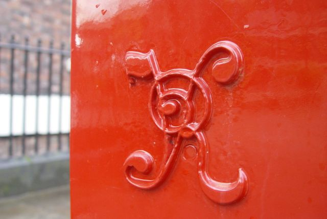 And one of our oldest post-boxes.