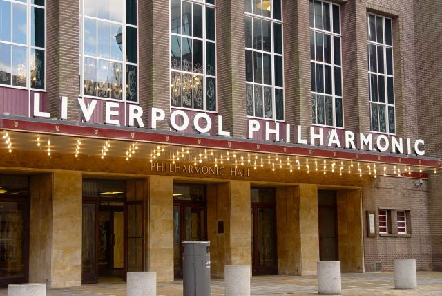 Along Hope Street, my first close up look at the new Philharmonic sign. Simple, elegant, beautiful, obvious. Well done.