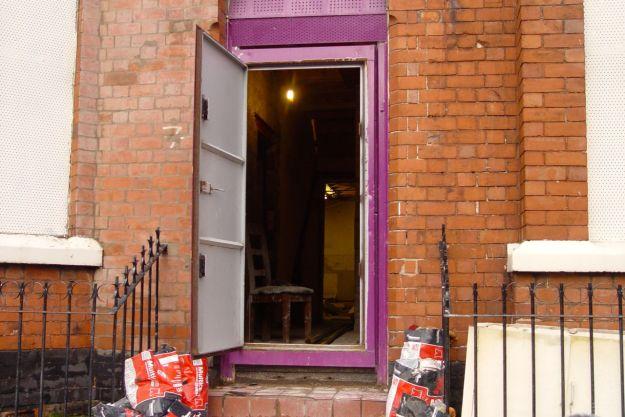 Granby 4 Streets. A door opens.