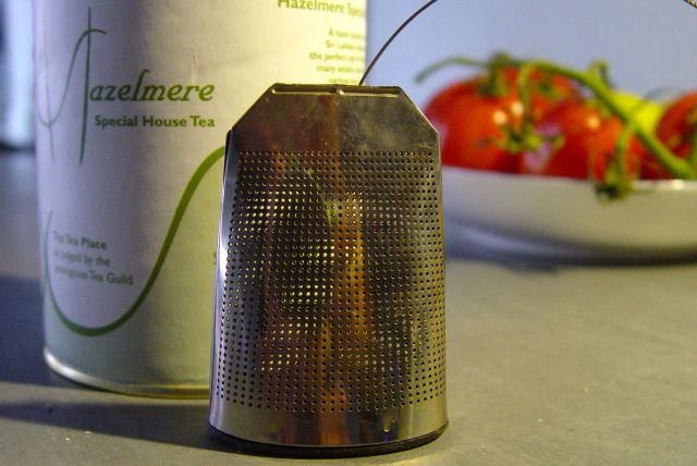 An infuser.