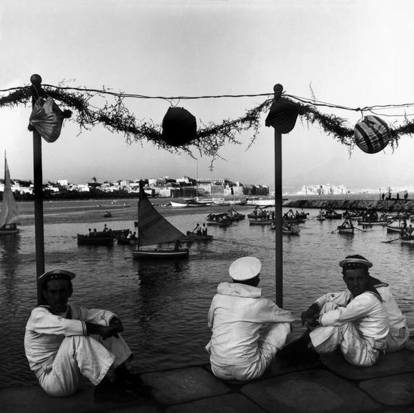 Napoli in 1953.