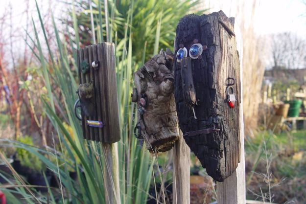 All watched over by the Spirits of the Allotment.
