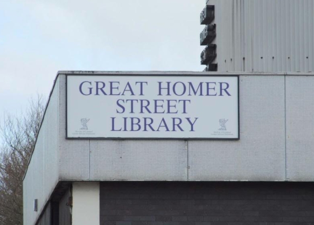 And to the library.