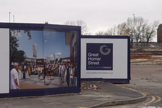 But now the new precinct is to be replaced by a new 'new precinct'