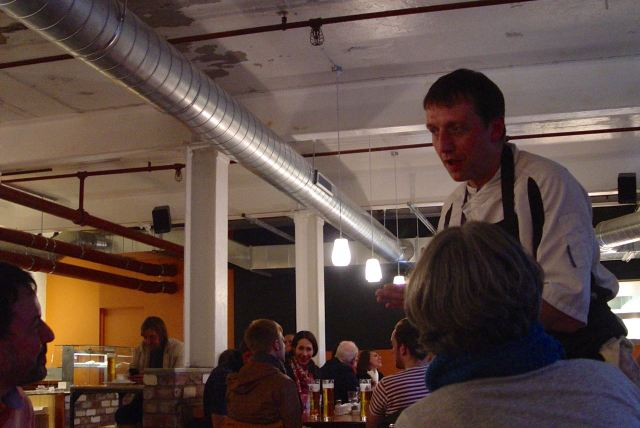 It's being run by Tom Gill, who was a chef at the Everyman Bistro for fifteen years.