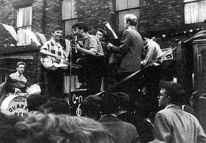 John Lennon and the Quarrymen.