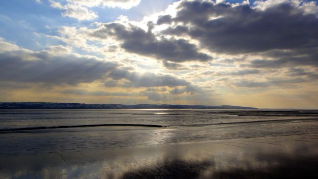 The Shining Shore at Thurstaston.