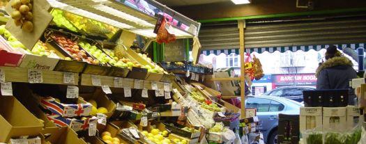 A proper and splendid greengrocer's.