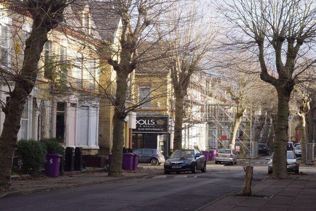 Passing Jermyn Street, on site.