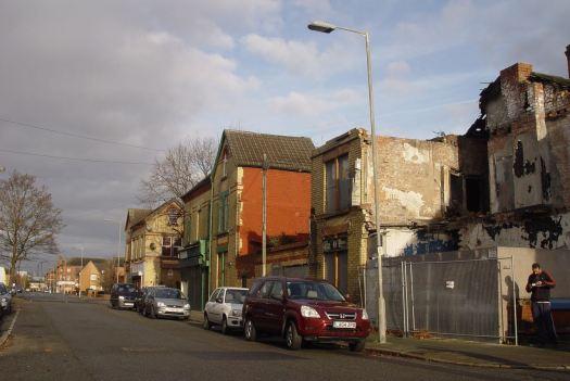 Across Granby Street.