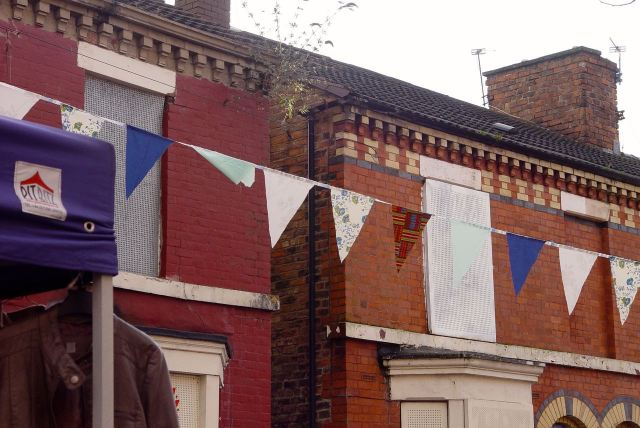 And some has been put together specially. The Christmas Bunting.