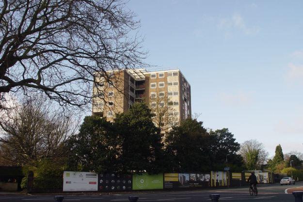 Across the park, Belem tower still 'in development'