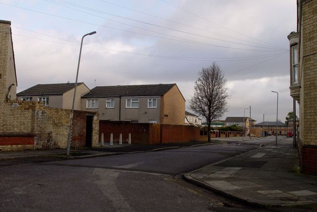 This is Roseberry Street.