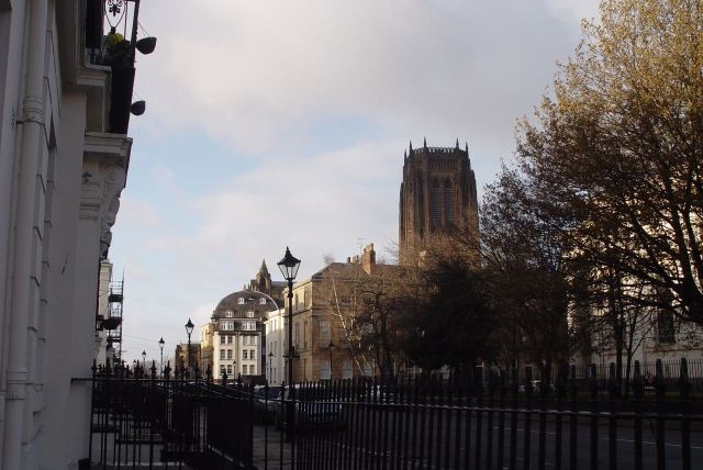 The Cathedral from Huskisson Street. Magnificent.