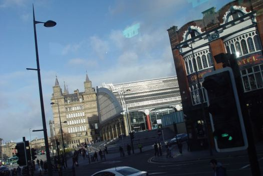 We turn onto Lime Street.