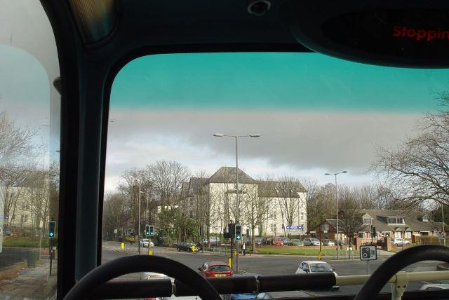 Turning onto Aigburth Road.