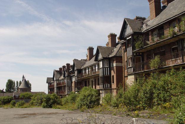 More empty homes, Eldon Grove.