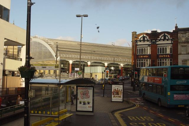 And coming into Lime Street.