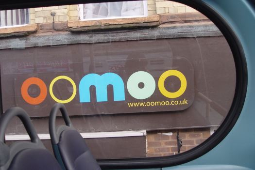 Passing Oomoo Café, which means we're nearly home.