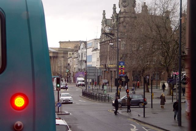 And better views of Lime Street than yesterday.