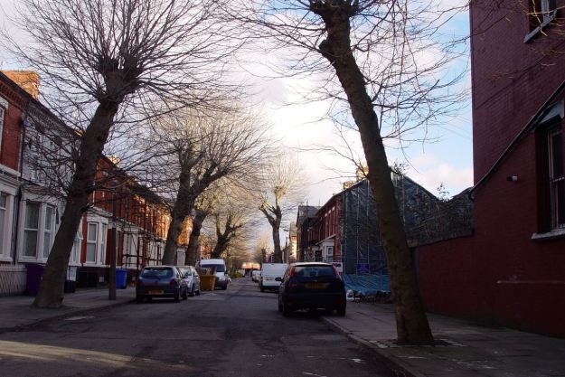 And entering Cairns Street.