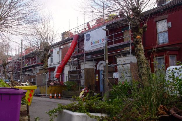 And Liverpool Mutual Homes are getting on well over the road.