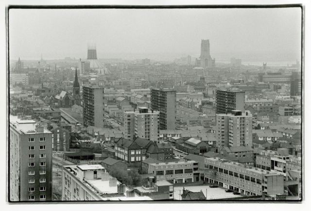 Liverpool from St George's Heights, Everton.