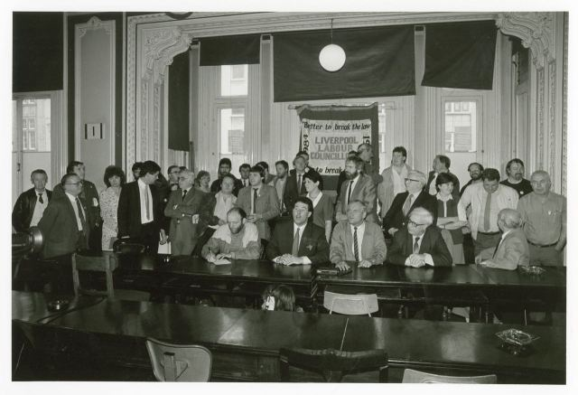 The City Council meet the media.