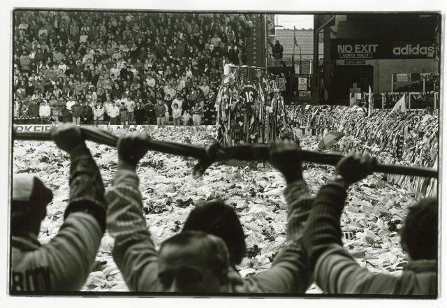 Anfield after Hillsborough.