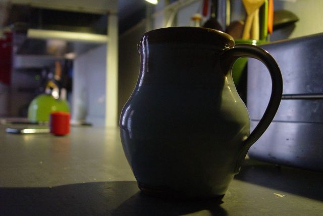 Sarah, it's fair to say, likes beautifully crafted jugs.