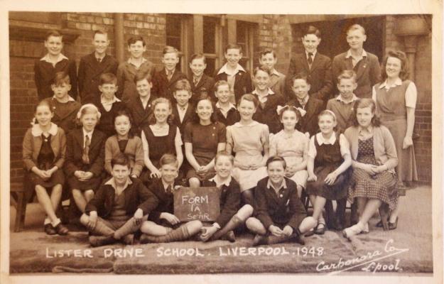 The school, seen here in 1949, is long gone.