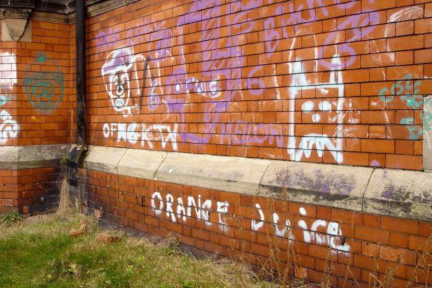 And the nostalgic graffiti.