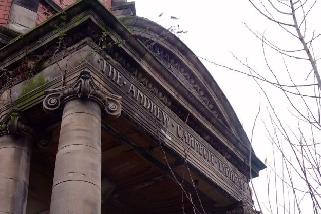 And yes, it's an Andrew Carnegie Library, with all the history that implies.