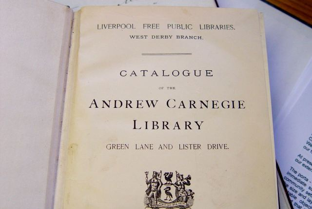 We also still have the Catalogue from when the Library was opened.