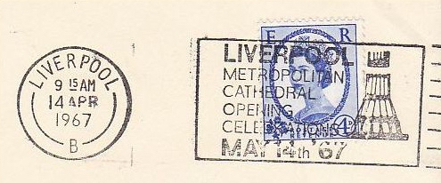 May 1967. I have no photographs of the event.