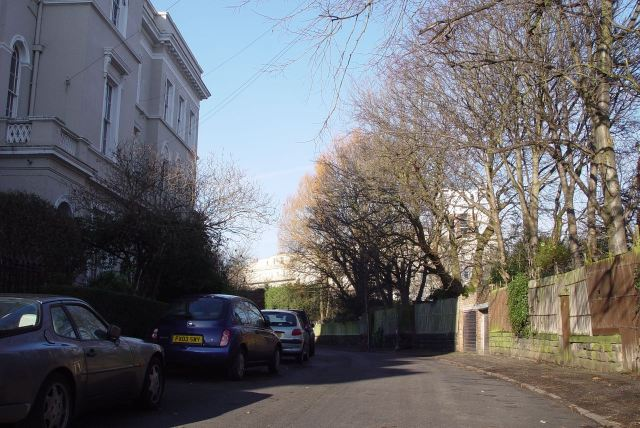 And through Windermere Terrace.
