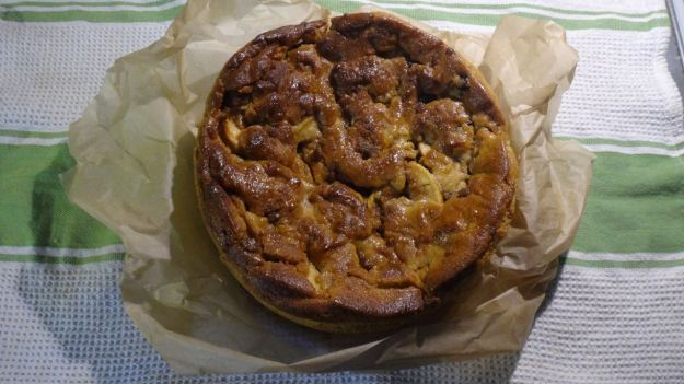It's this gorgeous Dutch Apple Cake from our friend Bren.