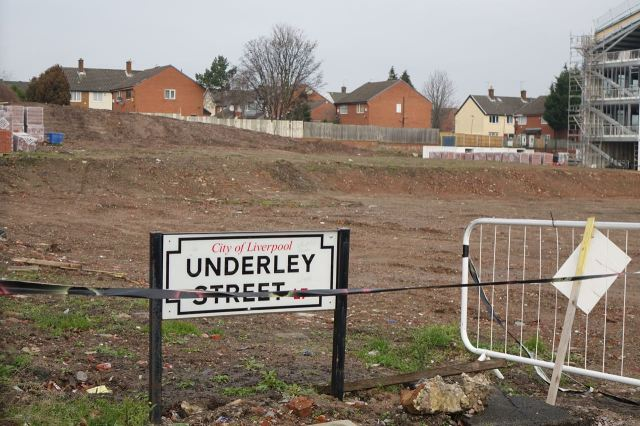 Like Underley Street, or all that now remains of it.