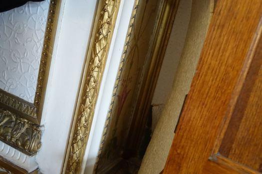 Even some original Victorian wallpaper hiding in a corner.