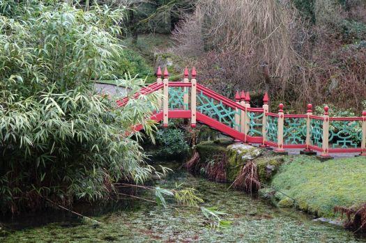 Complete with bridge.