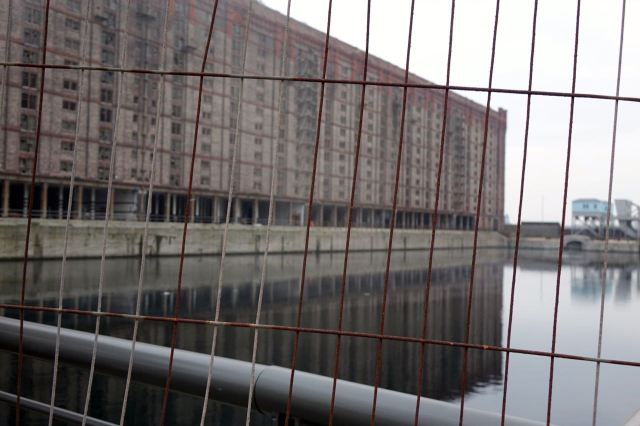 Here we are then, inside the Stanley Dock.