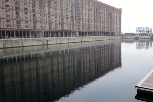 The beautiful and huge tobacco warehouse.